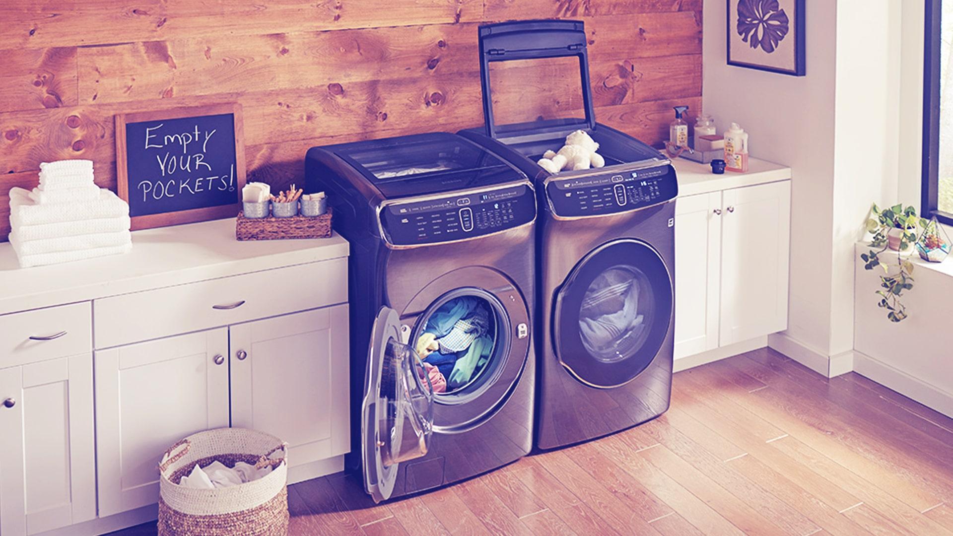washing machine empty your pockets min